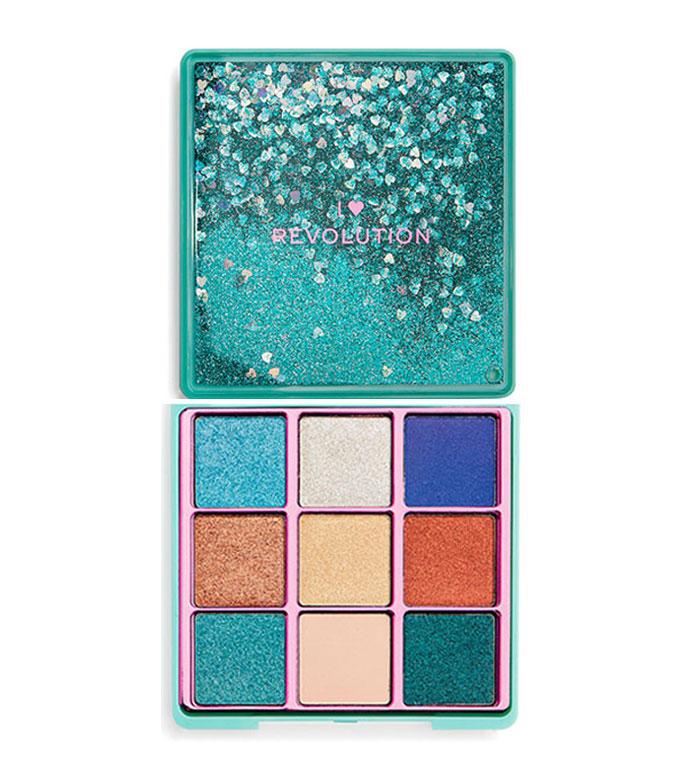 790d623cd499 I Heart Revolution - Glitter Palette Eyeshadow palette - Starry Eyed ...