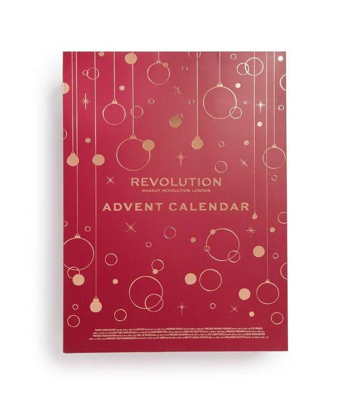 Calendario 216.Buy Revolution Advent Calendar 2019 Lips Lipliner Makeup