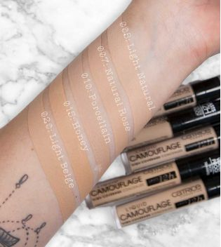 Catrice - Concealer Liquid Camouflage - 005: Light Natural