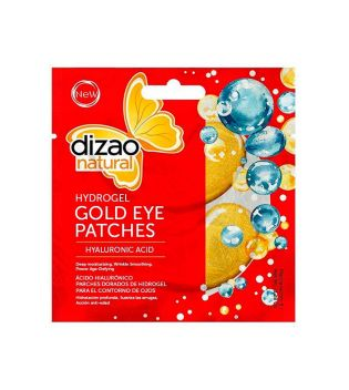 Dizao - Hydrogel Gold Patches for Eye Contour - Hyaluronic acid