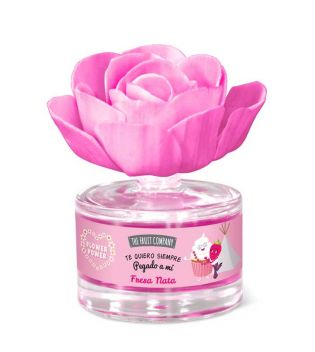 The Fruit Company - Scented flower freshener Flower Power - Strawberry and Cream
