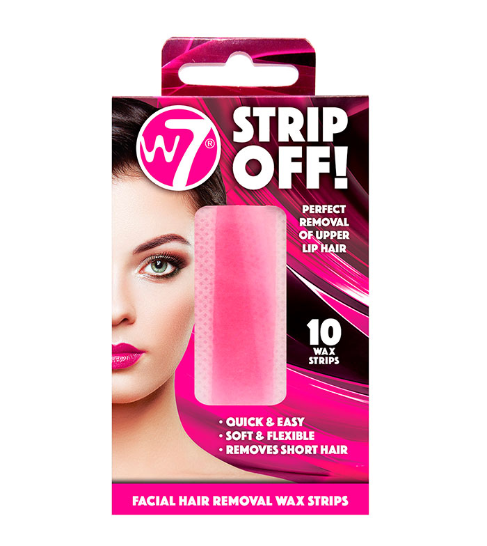 Buy W7 Facial Hair Removal Cold Wax Strips Strip Off